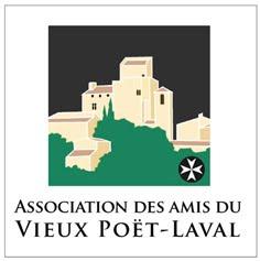 L'Association des amis du Vieux Poët-Laval Logo